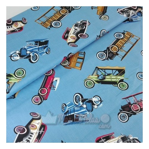 Patchwork Coches Vintage 14€/metro
