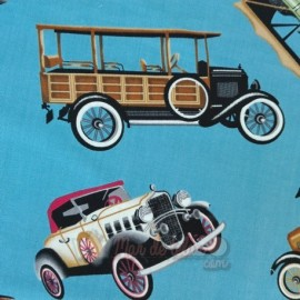 Patchwork Coches Vintage