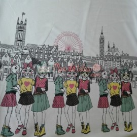 Tela de camiseta British
